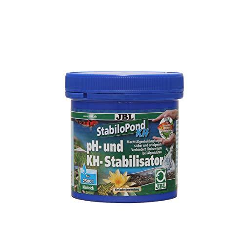 JBL - Stabilo Pond KH / 7002276 - Traitement pour Bassin - Stabilise Le Niveau de pH - 250 g