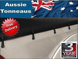 Isuzu Dmax Dual Cab with headboard ute tonneau cover