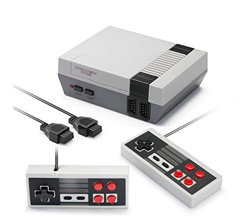 USXUS Retro Game Console , Plug & Play Game Player Classic 8 Bit Mini Video Game Player Built-in 620 AV Output Support TV Play…
