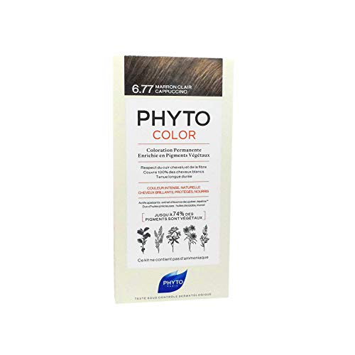 Phyto Paris Phytocolor Marron Clair Cappuccino 6.77