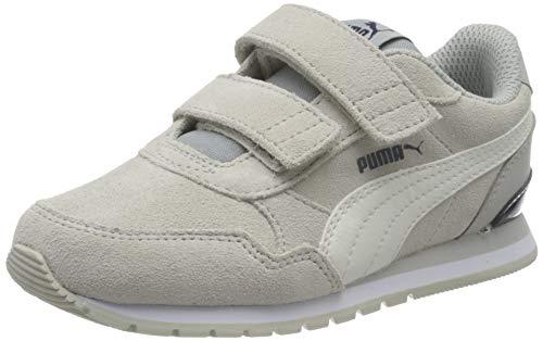 Puma Unisex-Kinder St Runner V2 Sd V Ps Sneaker, Grau Violet-Whisper Weiß-Puma Schwarz-Puma Weiß, 33 EU