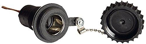 HELLA 8JB 001 946-101 Steckdose, Flachstecker, 300 mm Kabel, Querschnitt 2,5 mm², 2 -polig