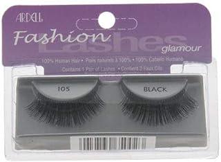 Ardell Glamour Lashes - # 105 Black For Women 1 Pair Eyelashes