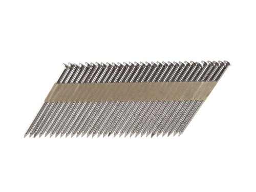 B&C Eagle A238X113RSS/33 Offset Round Head 2-3/8-Inch x .113 x 33 Degree S304 Stainless Steel Ring Shank Paper Tape Collated Framing Nails (500 per box)