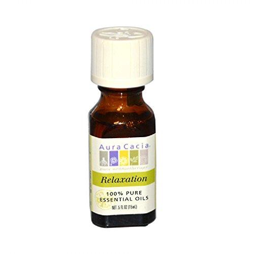 Aura Cacia - Essential Oil Blend, Relaxation Citrus, 0.5 oz by AURA CACIA