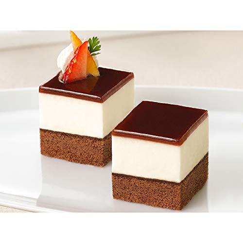 フレック カット済みケーキ ティラミス(北海道産マスカルポーネチーズ使用) 49個【冷凍】