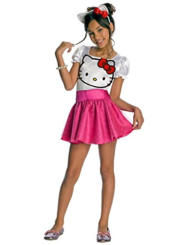 Rubies Hello Kitty Kinderkostüm, Größen:M