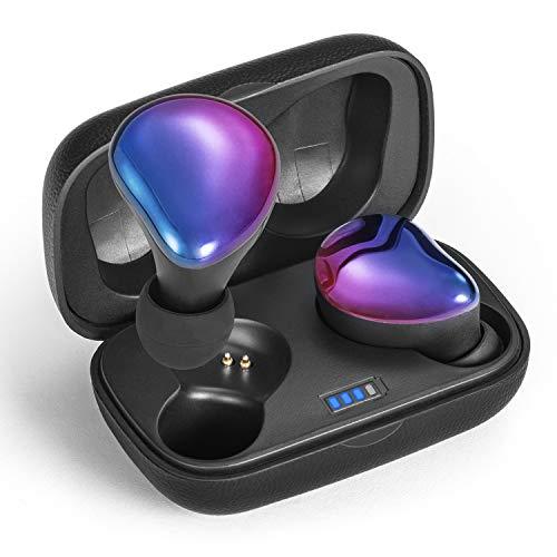 Sontinh CoolBuds Zweite Generation Stilvolle, kabellose Ohrhörer, Bluetooth 5.0-Kopfhörer mit 66FT-Reichweite, nahtloses Umschalten in Mono & Stereo, tragbare Tasche mit 20-St&en-Spielzeit