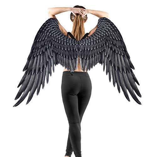 Neborn Schöne Engelsflügel Fee Flügel Kostüm Halloween Party Karneval Cosplay Flügel Für Erwachsene Männer Frauen Kinder Kinder, Halloween Dekoration Requisiten