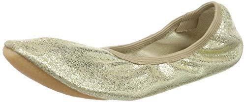 Beck Basic, Zapatillas de Gimnasia para Mujer, Dorado (Gold 14), 40 EU