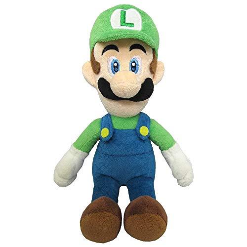 Super Mario AC02 Luigi Sanei Officially Licensed Plush, Multicolou