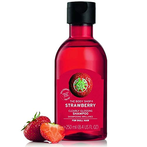 Body shop shampoo strawberry 250ml
