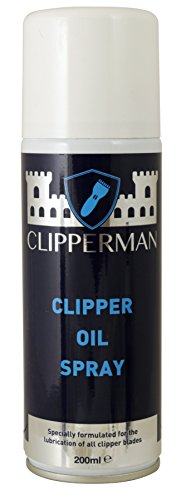 Clipperman CLP0065 Clipper Oil Spray Clear Regular