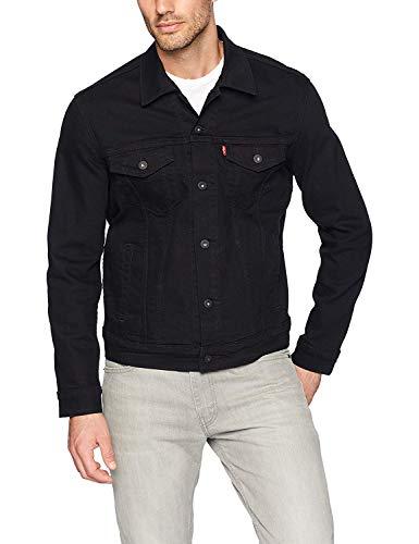 Levi's Men's Trucker Jacket Outerwear, -larimar/black/stretch, S