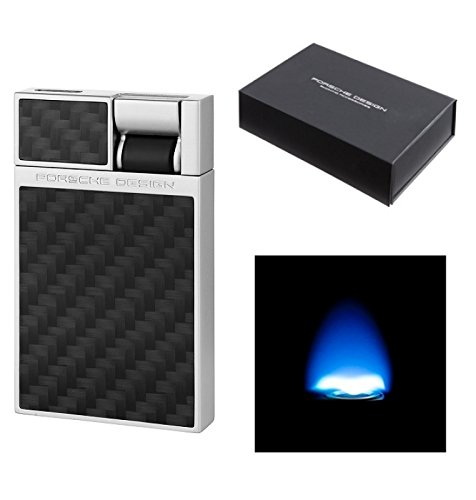 Lifestyle-Ambiente Porsche Design Feuerzeug P3632 Flat-Flame-Zündung Carbon inkl. LA Tastingbogen