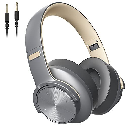 Bluetooth Headphones Wireless Over-Ear Headphone Audio 5.0 Studio Foldable with Touch...