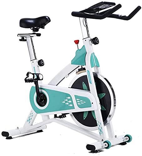 ZJDM Bicicletas de Ejercicio, Monitor de frecuencia cardíaca para Bicicletas Deportivas de Interior Ultra silencioso, controlado magnéticamente, con Pantalla LED, Equipo de Fitness para entrenami