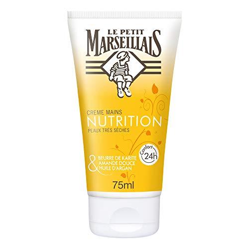 Le Petit Marseillais - Crème Mains - Nourrissante Peaux très Sèches - Tube 75 ml