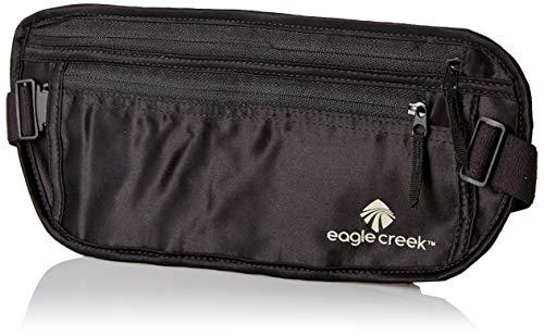 EAGLE CREEK TRAVEL GEAR Undercover Silk Money Belt, Black, One Size