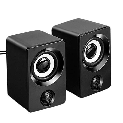 Timagebreze Computer Speakers, USB Multimedia Speakers, Desktop Speakers, Suitable for Mobile Phones/Laptops/Desktop Computers