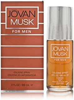 Jovan Musc Eau De Toilette Spray For Men, 3.0 Ounce
