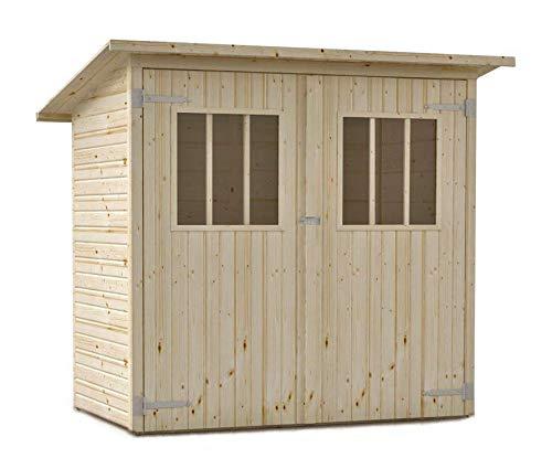 Alpholz Gerätehaus Zimowit aus Massiv-Holz