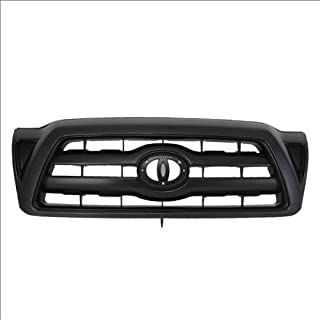 CarPartsDepot, Front Plastic Grille Grill New Body Parts Pickup 2/4-Dr, 400-441051 5310004410C0 TO1200279