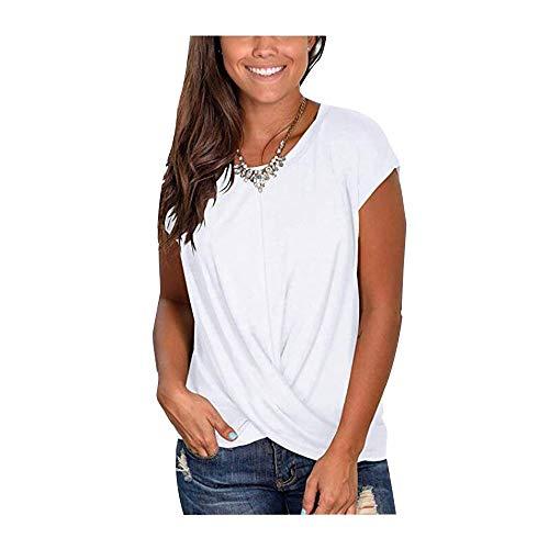 Camisas de Mujer Tops de túnica Informal para Mujeres Camis