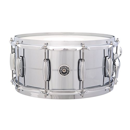 "Brooklyn Snare 14""x6.5"", Chrome over Brass"