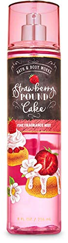 Bath and Body Works Body Care Fall 2020 - Strawberry Pound Cake Fine Fragrance Mist - Full Size 8 fl oz