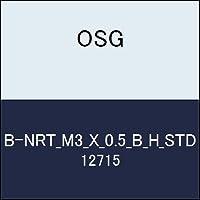 OSG ハイス溝ナシタップ B-NRT_M3_X_0.5_B_H_STD 商品番号 12715