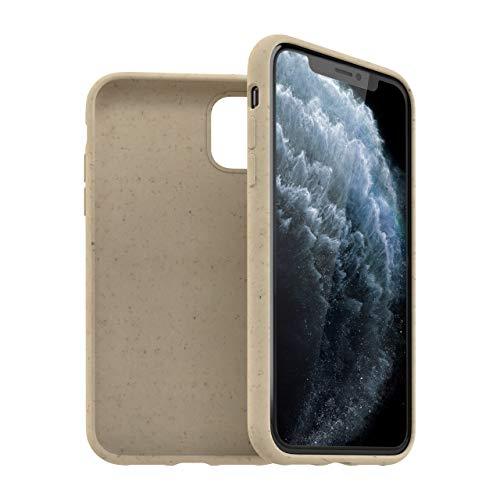 KMP GreenNu Bio Hülle für iPhone 11 Pro - beige - nachhaltig, biologisch abbaubar - BioHülle Hülle Schutzhülle Handyhülle