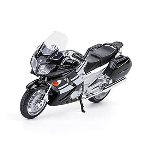 El Maquetas Coche Motocross Fantastico 1:18 para Yamaha FJR 1300 Aleación Fundición A Presión Modelo Motocicleta Decoración Adulto Mini Colección Regalos Coche Juguete Regalos Juegos Mas Vendidos