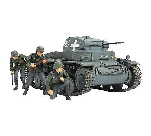 Tamiya 300035299 - 1:35 WWII Dt. Panzerkampfwagen II C Polen (4)