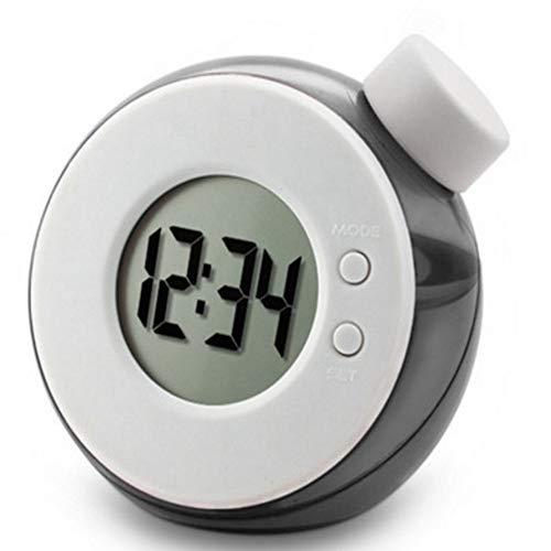 Tischuhr Kreative Wasserbetriebene Uhr Kinderschreibtischuhr Smart Water Element Mute Digitaluhr Mit Kalender Home Decor Kindergeschenke (Color : C)