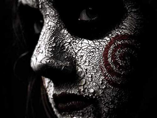 Aaubsk Puzzle 1000 Piezas Regalo de Arte de Personaje de película de Terror de Halloween Puzzle 1000 Piezas educa Rompecabezas de Juguete de descompresión Intelectual Colorido juego50x75cm(20x30inch)