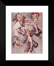 The Land of Enchantment 20x24 Framed Art Print by Rockwell, Norman