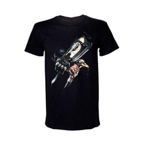 Assassin's Creed : Syndicate - Men's Hidden Blade Short Sleeve T-Shirt- Black-Small [import anglais]