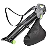 Emperial 3 in 1 Leaf Blower - 3000W Garden Vacuum & Mulcher - 35 Litre Collection Bag, 10:1 Shredding Ratio, Automatic Mulching Compacts Leaves in Bag with 10m Cable