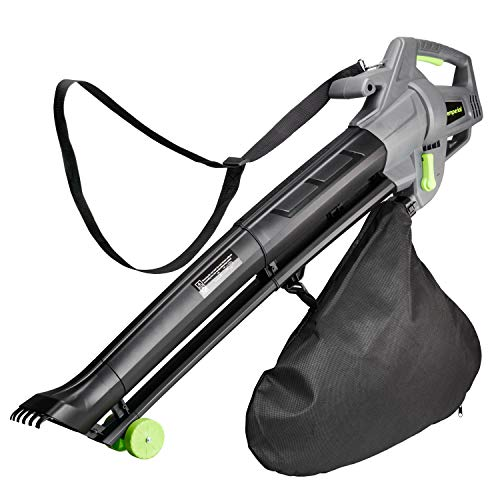 Emperial 3 in 1 Leaf Blower - 3000W Garden Vacuum & Mulcher...