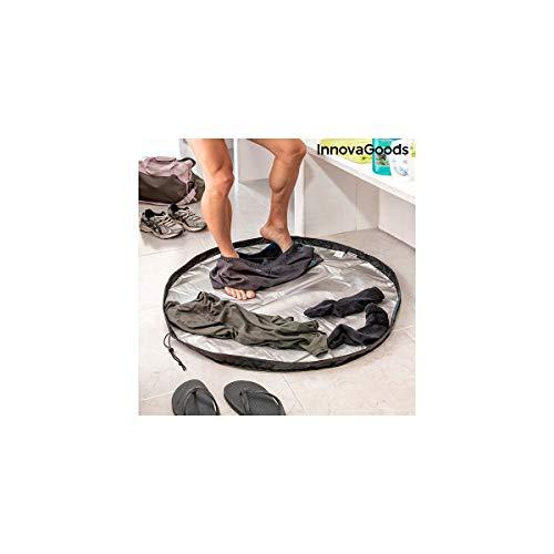 InnovaGoods Esterilla para Vestuarios y Bolsa Impermeable 2 en 1 Gymbag, Adultos Unisex,