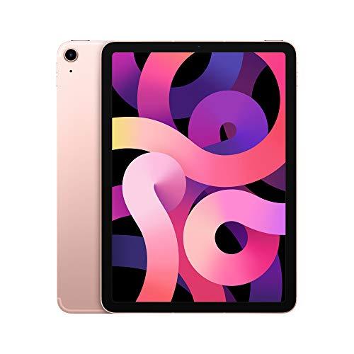 2020 Apple iPadAir (de 10,9Pulgadas, con Wi-Fi + Cellular y 64GB) - Oro Rosa (4.ªgeneración)