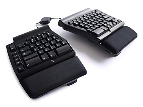Matias Old Model Ergo Pro Keyboard for PC, Low Force Edition
