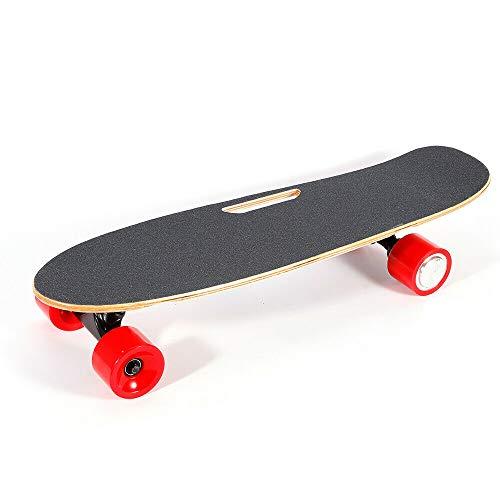 WUPYI2018 Elektrisches Skateboard, für Erwachsene, mit kabelloser Fernbedienung, Höchstgeschwindigkeit 20 km/h