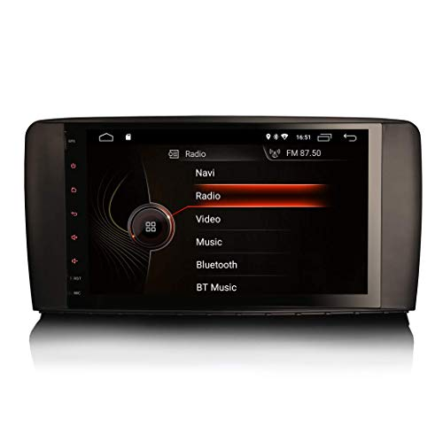 9' Android 10.0 Auto Radio GPS Navigation Diriger Unité pour Mercedes Benz Classe R W251 2006-2012...