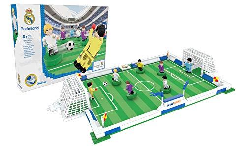 NANOSTARS 7212 - Campo de Fútbol del Real Madrid FC (Producto Oficial Licenciado). Recomendado para niños/niñas con Edades Superiores a 5 años