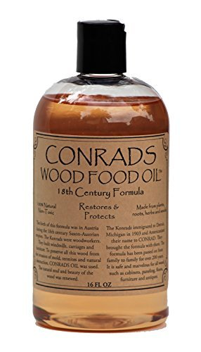 Conrads Wood Food Oil (16 oz)