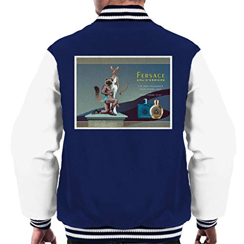 Cloud City 7 Fersace Parfum Advert Parodie Varsity Jacket voor heren