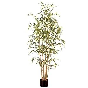 WYJBD Artificial 4ft Golden Bamboo Tree, Artificial Plants Bonsai Small Tree, Mini Decorations Artificial Plant Bamboo in Plastic for Home and Office Decoration