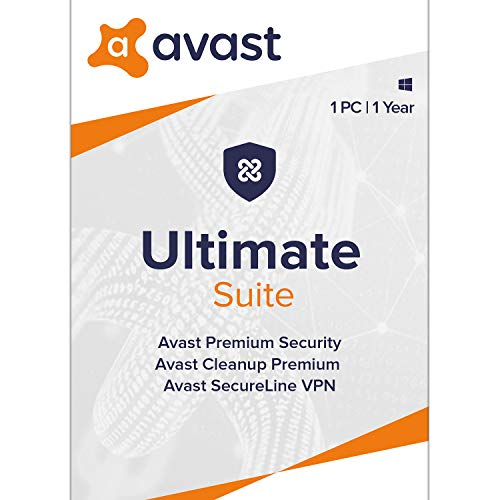 Avast Ultimate 2020 | Antivirus+Cleaner+VPN | 1 PC, 1 Year [Download]
